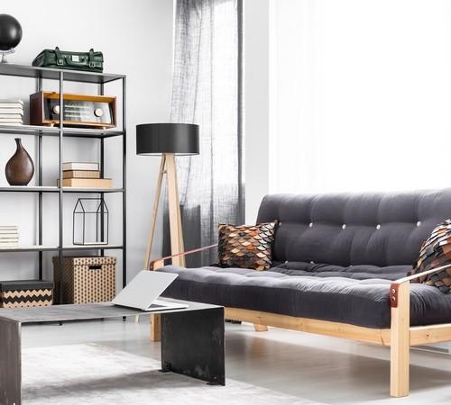 Industrielle Wohnzimmereinrichtungen als Inspiration für Ihr Zuhause